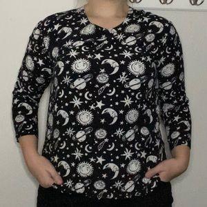 Cosmic Shirt 🌞🌙⭐️✨